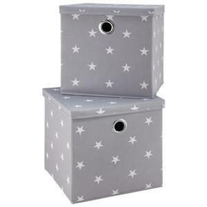 Boxen-set 2er Set mit Deckel