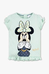 Minnie Maus - Baby-Kurzarmshirt - Bio-Baumwolle