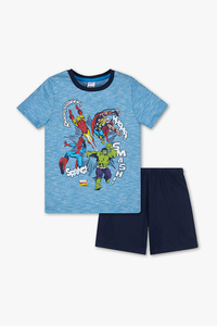 Marvel - Shorty-Pyjama - Bio-Baumwolle - 2 teilig