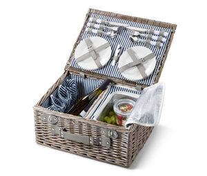 Picknickkorb mit Kühlfach für 4 Personen