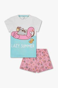 Pusheen - Shorty-Pyjama - Bio-Baumwolle - 2 teilig