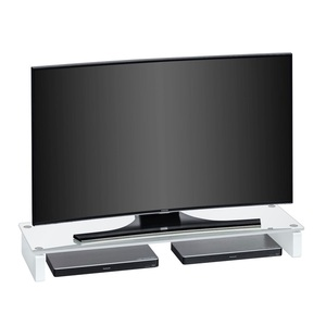 TV-Board Klarglas ca. 110 x 12,5 x 35 cm