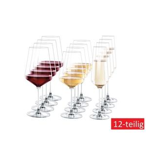 LEONARDO Wein- und Sektglas Set SELEZIONE 12-teilig Klarglas