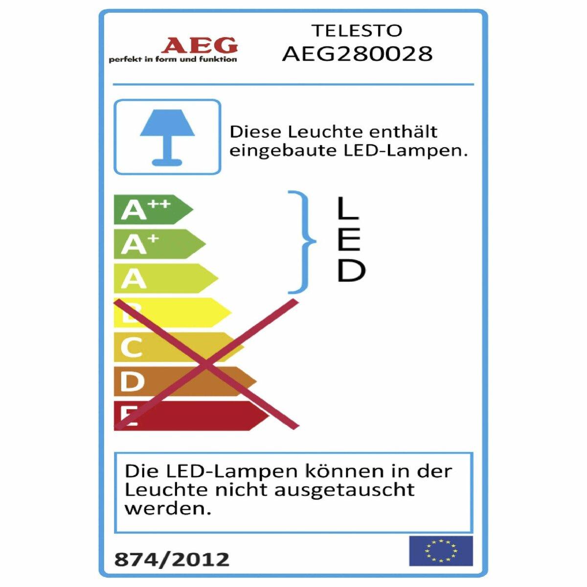 Bild 2 von AEG LED-Außenwandleuchte   Telesto
