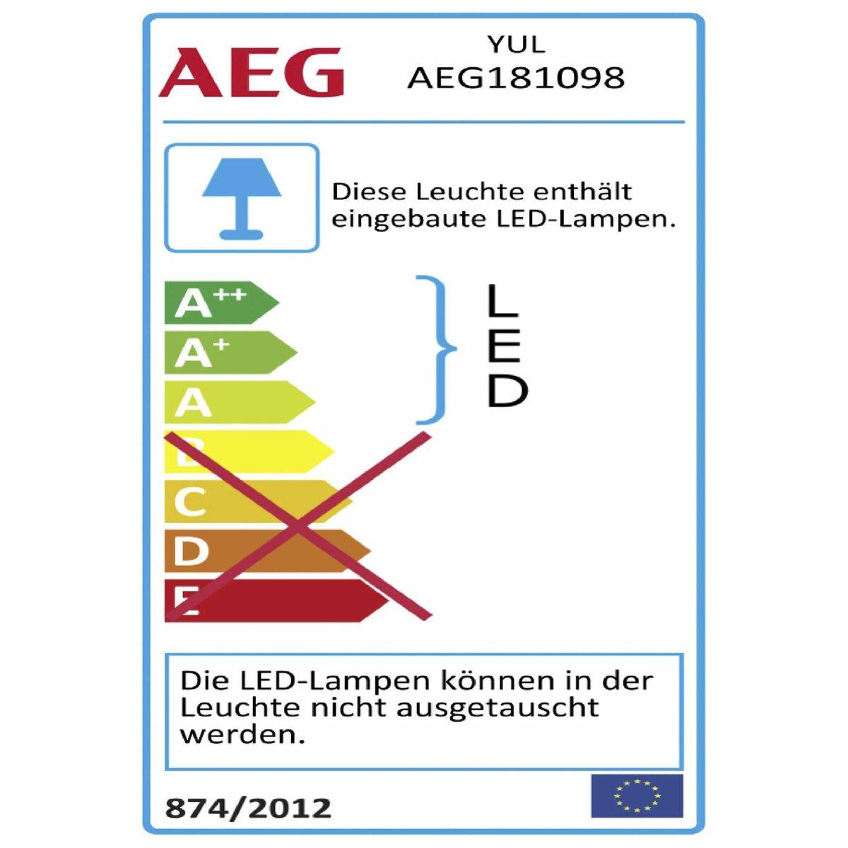 Bild 3 von AEG LED-Wandleuchte   Yul