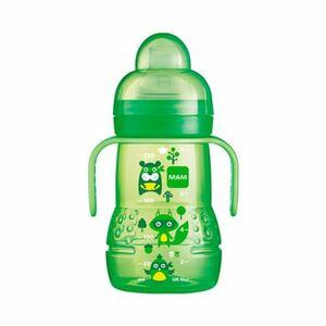 Trinklernflasche mit Griffen Trainer + 220ml grün