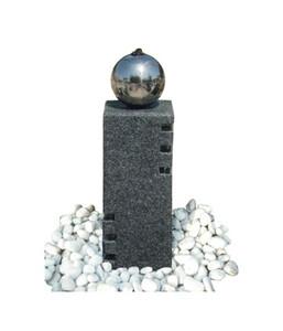 Dehner Granit-Gartenbrunnen Vicenza, 18 x 18 x 40 cm
