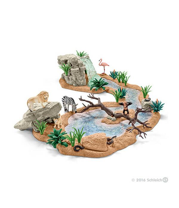 Schleich Große Abenteuer Wasserstelle