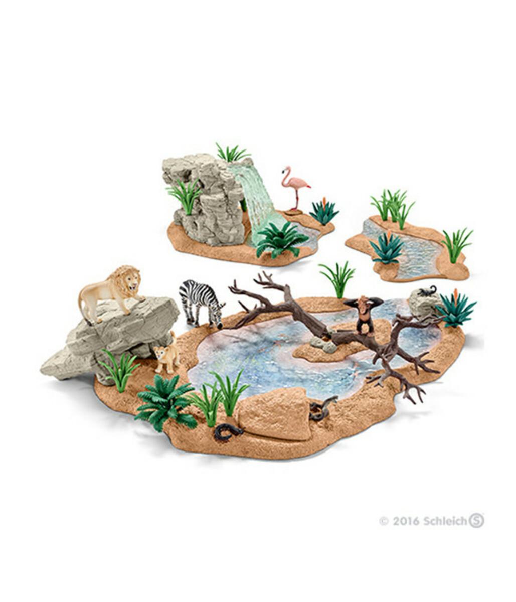 Bild 4 von Schleich Große Abenteuer Wasserstelle