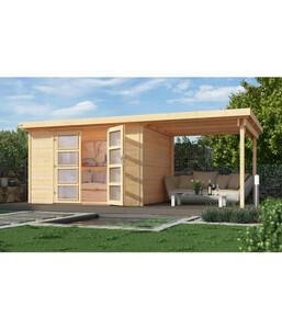 Weka Gartenhaus 321 + 230 cm Anbau