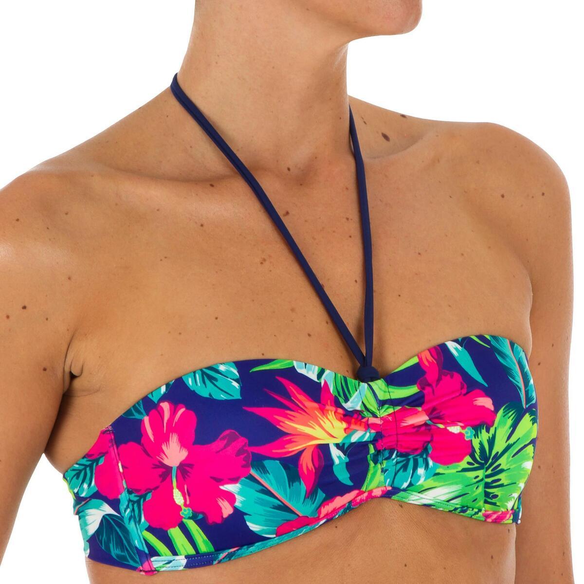 Bild 3 von Bikini-Oberteil Bandeau Bora angenähte Formschalen Damen