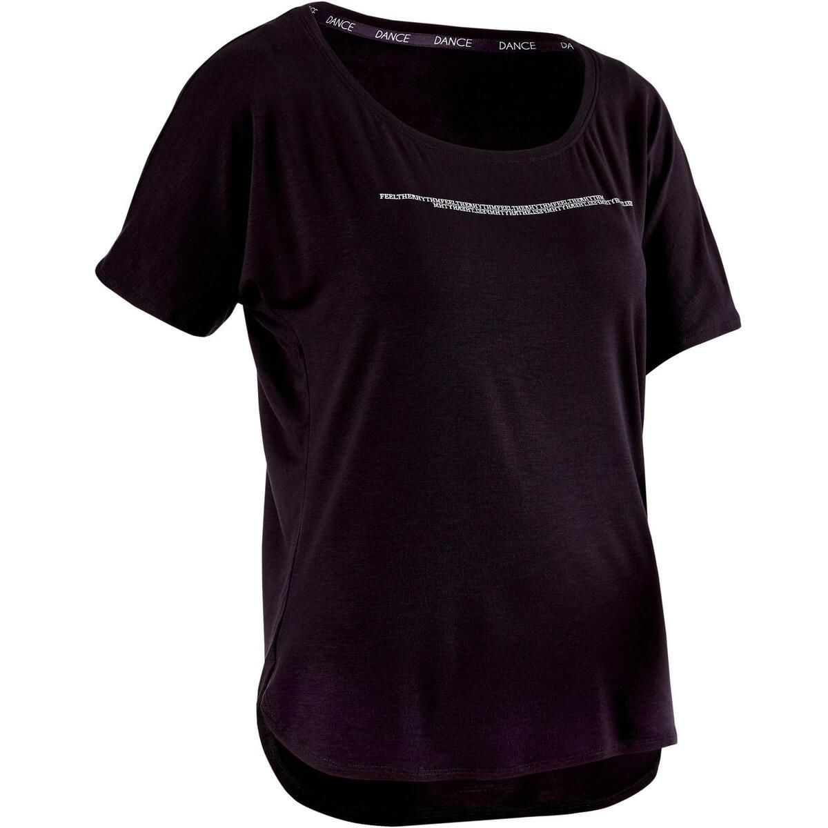 Bild 1 von Dance-Shirt kurz Modern Dance Damen schwarz