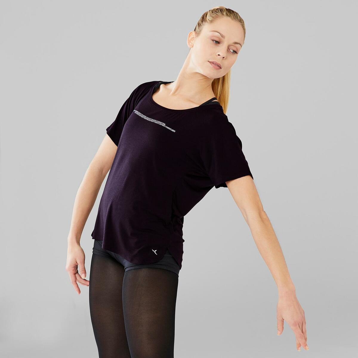 Bild 5 von Dance-Shirt kurz Modern Dance Damen schwarz