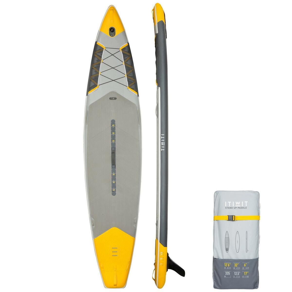 Bild 1 von SUP-Board Stand Up Paddle aufblasbar Touring 500 12´632 gelb