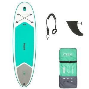 SUP-Board aufblasbar 8´9 Touring Einsteiger grün