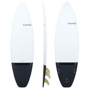 Surfboard 900 Hardboard 6´ Shortboard 30 l inkl. 3 Finnen