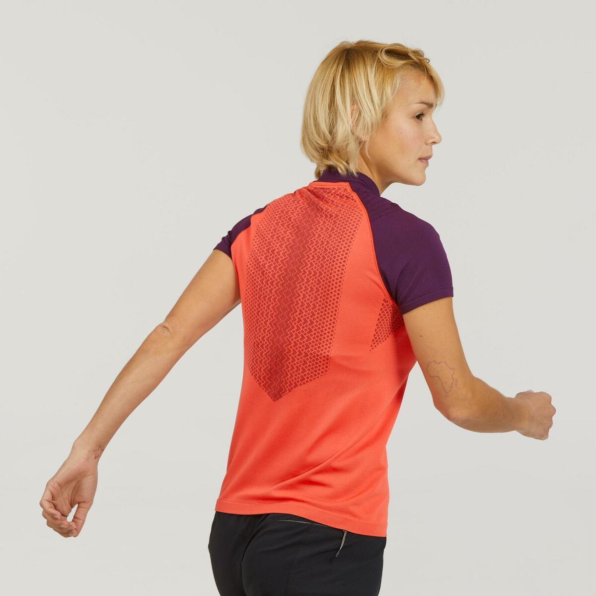 Bild 3 von Funktionsshirt Speed Hiking FH900 Damen rot/violett