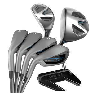 Golfschläger Set 500 7 Schläger Linkshand Herren