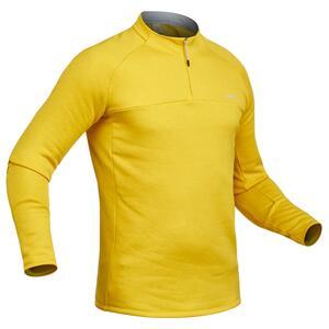 Unterziehhemd Ski 500 Herren gelb