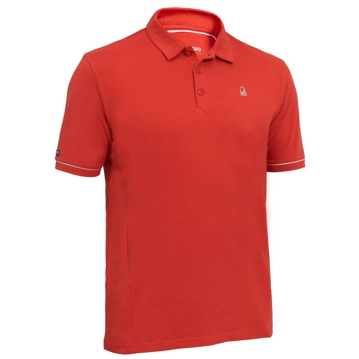 Bild 1 von Poloshirt Segeln kurzarm Sailing 100 Herren rot