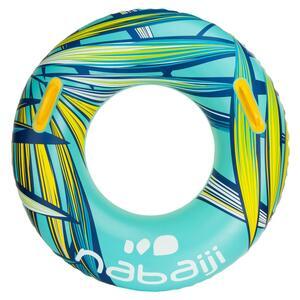 Schwimmring mit Griffen 92cm großes Format Erwachsene Tropic blau