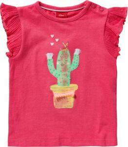 Baby T-Shirt pink Gr. 80 Mädchen Kinder