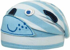 Baby Beanie , UV-Schutz blau Gr. 45 Jungen Baby