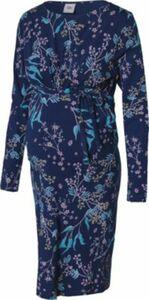MLSILLE L/S JERSEY ABK DRESS A. O. - Umstandskleider - weiblich blau Gr. 42 Damen Kinder