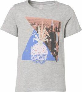 T-Shirt grau Gr. 116/122 Mädchen Kinder