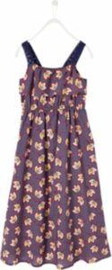 Jerseykleid blau Gr. 98/104 Mädchen Kinder