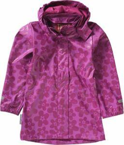 Regenmantel violett Gr. 104 Mädchen Kleinkinder