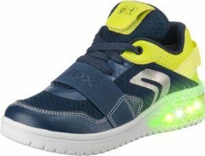 Sneakers Low Blinkies XLED BOY , mit LED Sohle blau Gr. 38 Jungen Kinder