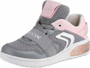 Sneakers Low Blinkies XLED Girl mit LED Sohle grau Gr. 33 Mädchen Kinder