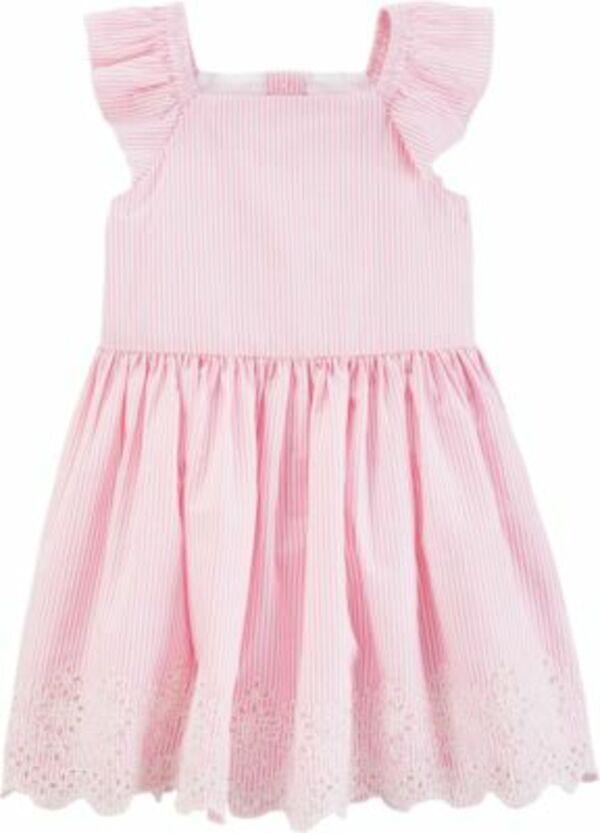Kinder Kleid gestreift mehrfarbig Gr. 92 Mädchen Kleinkinder