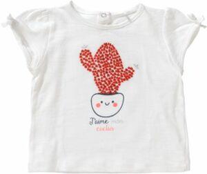 Baby T-Shirt mit Pailletten weiß Gr. 74 Mädchen Baby