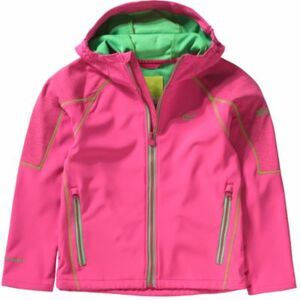 Kinder Softshelljacke ACIDITY II pink Gr. 116 Mädchen Kinder