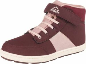 Kinder Sneakers High NELLY dunkelrot Gr. 30