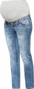 MLBOSTON STRAIGHT JEANS B. - Umstandsjeans - weiblich blue denim Gr. W30/L32 Damen Kinder