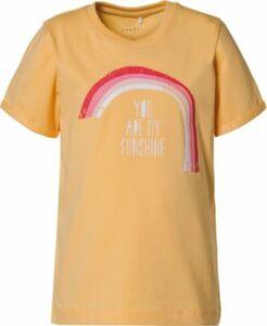 T-Shirt NMFVIX gelb Gr. 98 Mädchen Kleinkinder