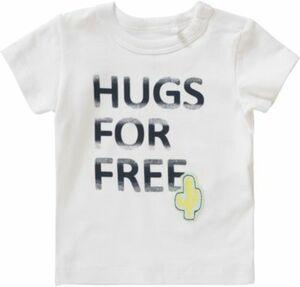 Baby T-Shirt NBMDETIMO weiß Gr. 68 Jungen Baby