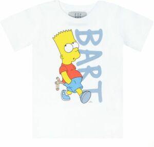SIMPSONS T-Shirt , slim fit weiß Gr. 128/134 Jungen Kinder