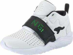 Sneakers High Blinkies KANGABLASTER weiß Gr. 34 Jungen Kinder