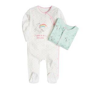 Baby Strampelanzug 2er Pack für Mädchen