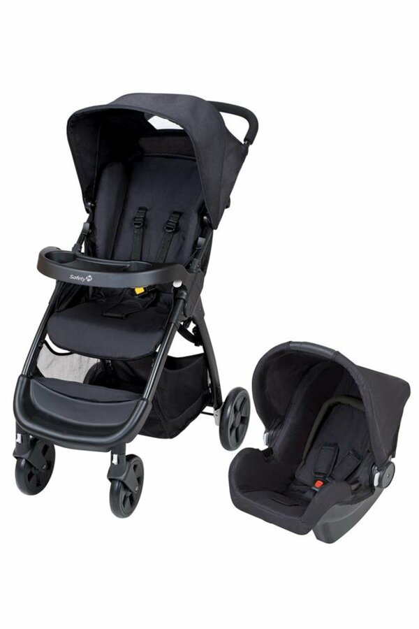 Safety 1st Amble Buggy Travelsystem Full Black