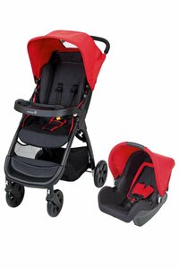 Safety 1st Amble Buggy Travelsystem Plain Red