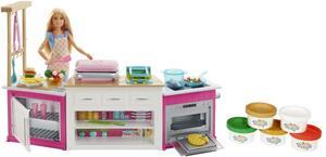 Barbie mit Deluxe Küche