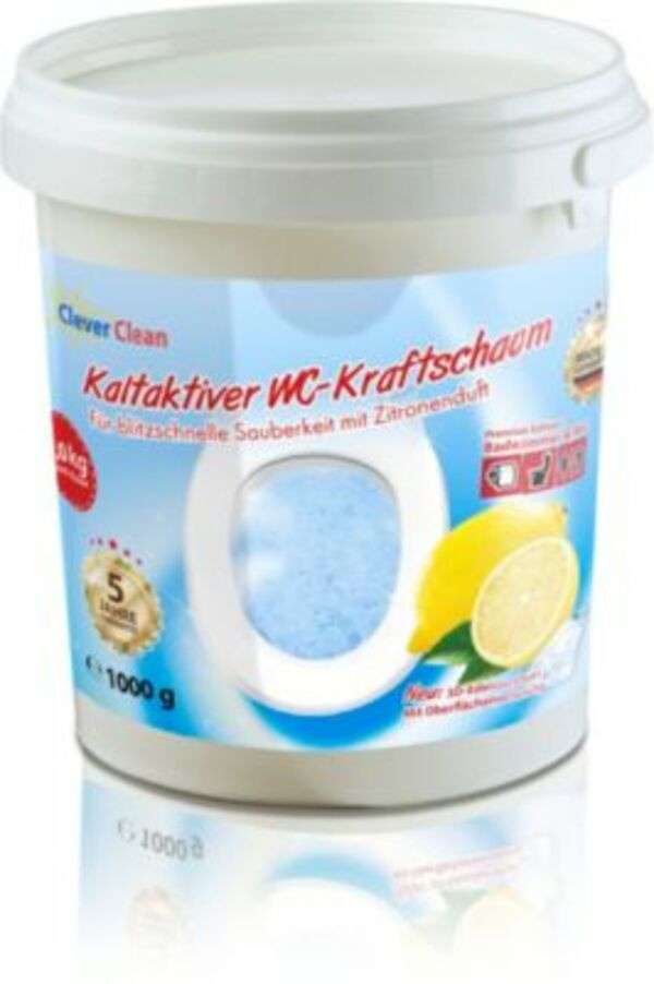 Clever Clean WC Kraftreiniger, 1kg