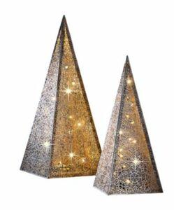 Lichterpyramide ''Ornament'', 40 cm