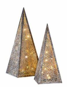 """Lichterpyramide """"Ornament"""", 50 cm"""