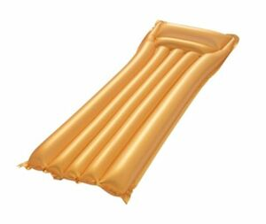 Luftmatratze Gold, ca. 183 x 69 cm